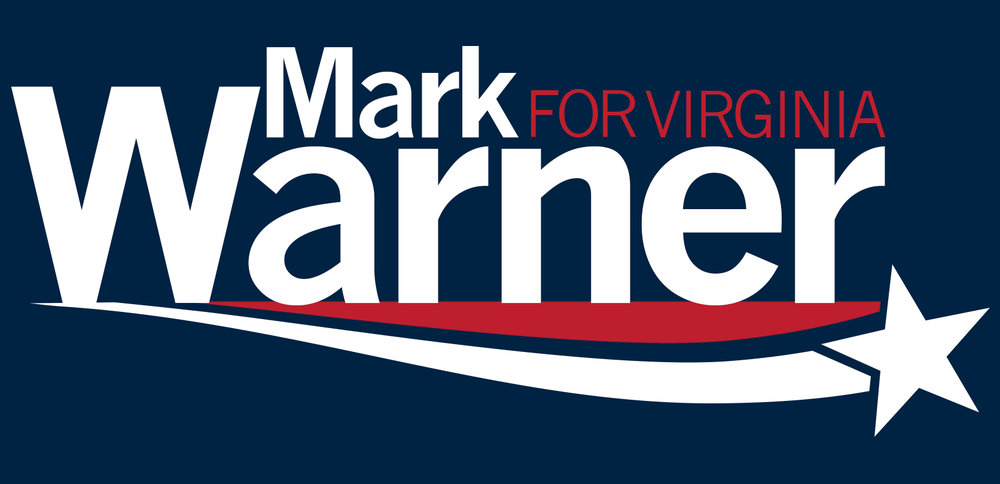 Senator Warner's Updated Logo