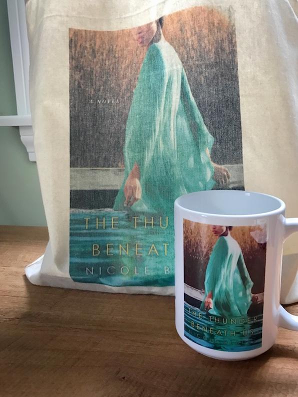 The Thunder Beneath Us mug and tote bag