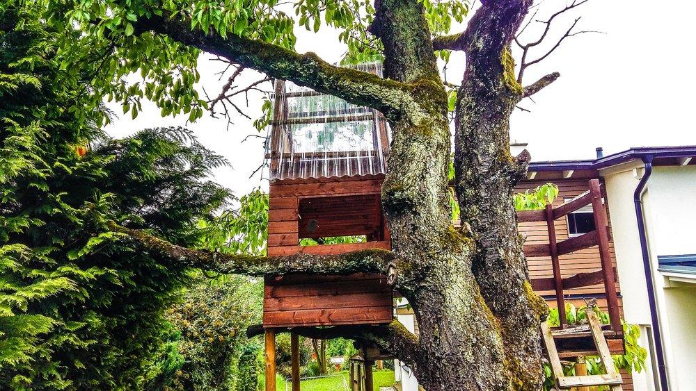 Nicole Blades treehouse