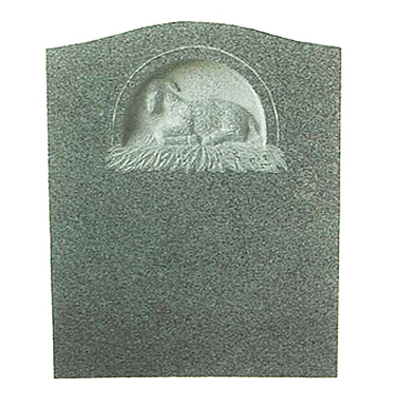 Individual Die Available in any of our Granite Colors