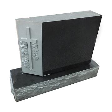 """Color: Black Tie Die: 3-2 x 0-8 x 2-2 All Polish, Raised Sculpture Base: 4-0 x 1-2 x 0-82"""" PM, BRP"""