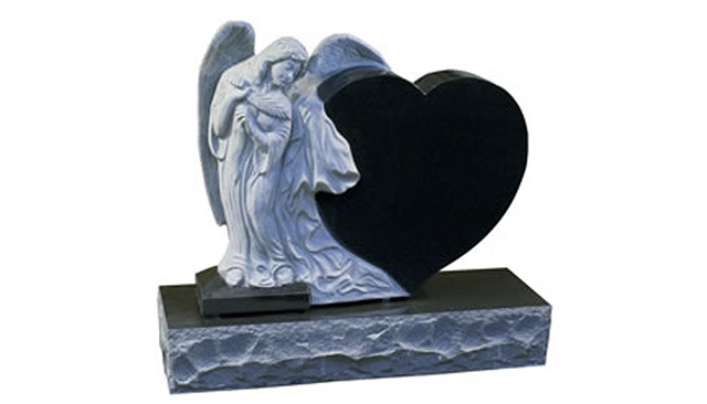 Sculpted Angel Monuments -