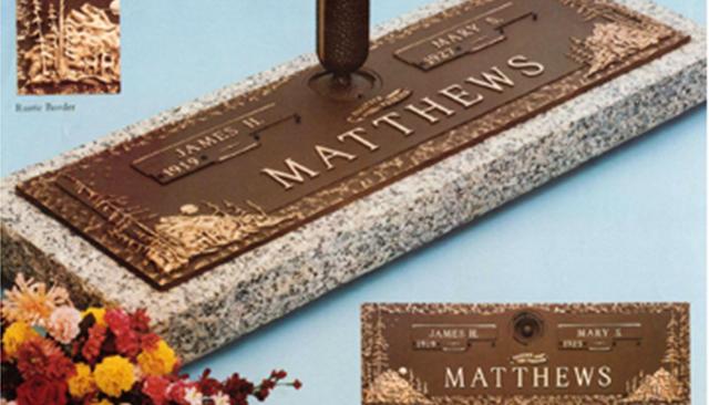 Companion Bronze Markers -