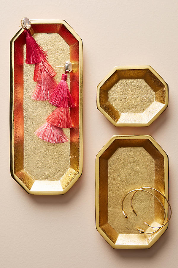 GOLD JEWELRY TRAYS