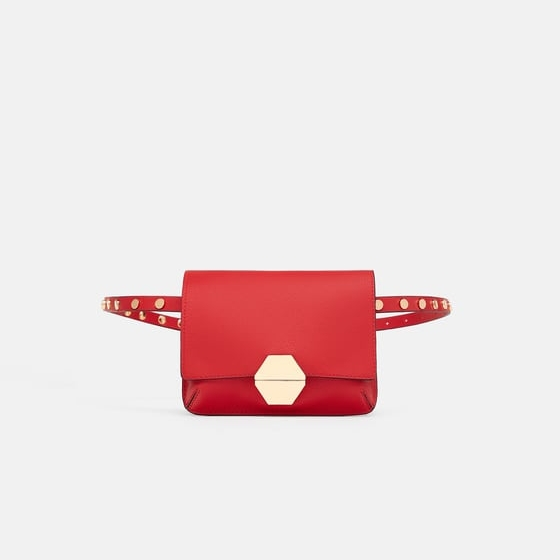 Zara Red Belt Bag.jpg