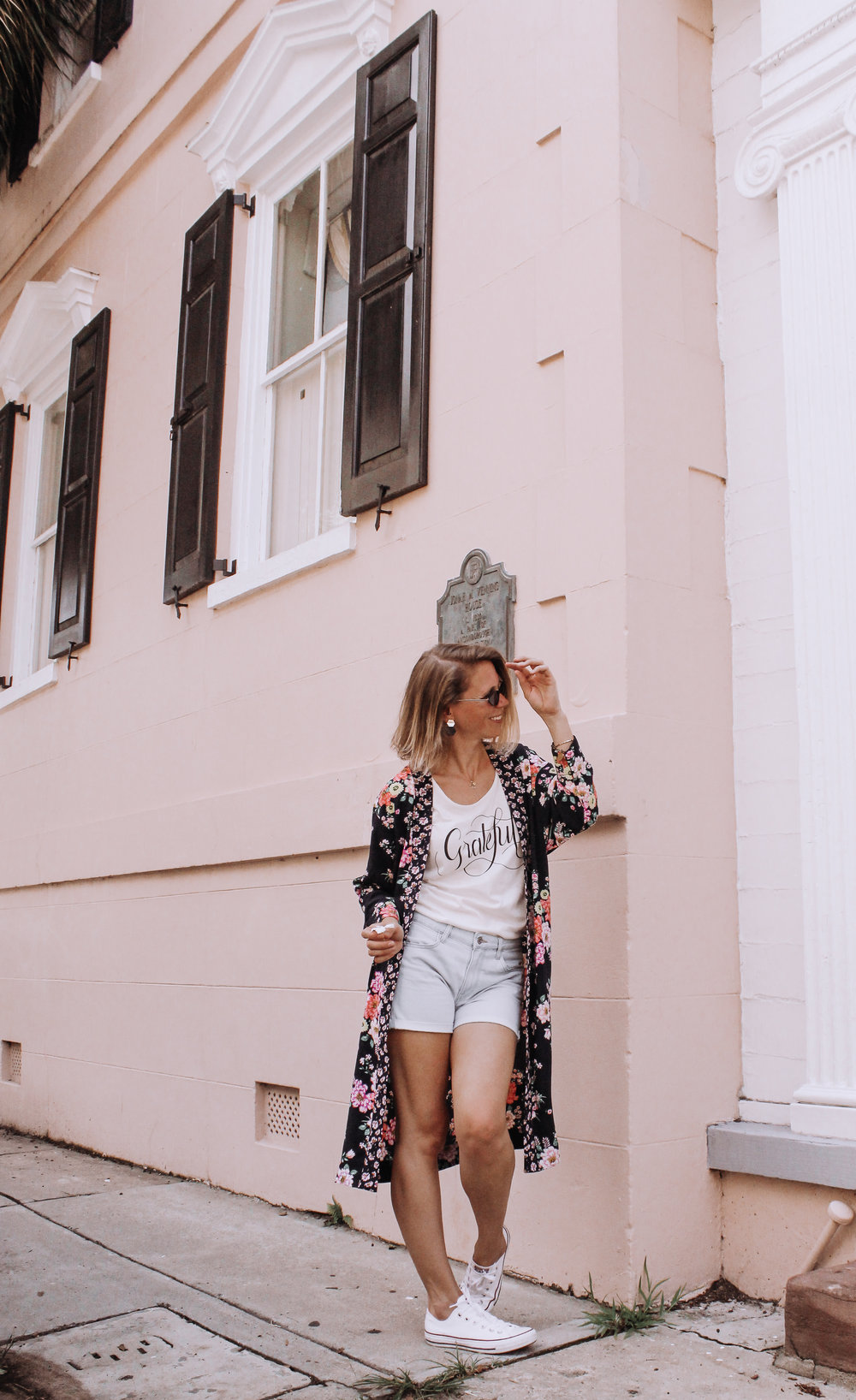 | Floral Kimono |  They are sold out of the one I have but here is another one I have and love too! ALSO on sale!
