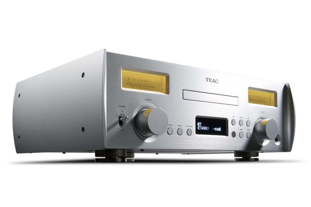 TEAC NR-7CD - Sieťový prehrávač CD a integrovaný zosilňovač. Vintage vzhľad a najnovšie technológie v jednom. LDAC, aptX, DSD, Tidal ...