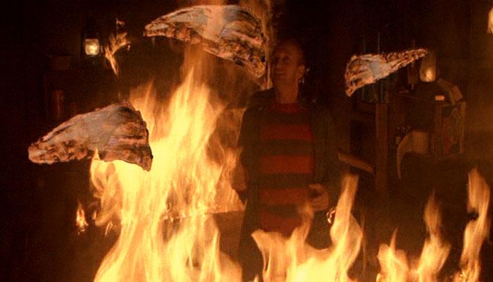 Freddy in the boiler room