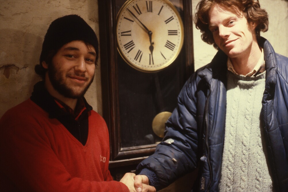 Sam Raimi (left) and Rob Tapert (right)