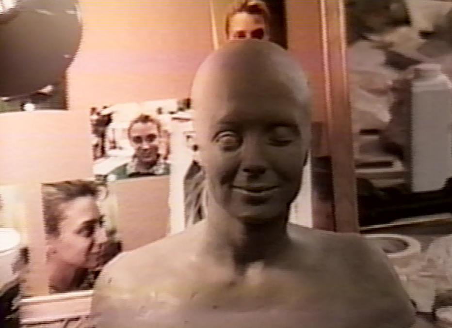 Completed head cast sculpt