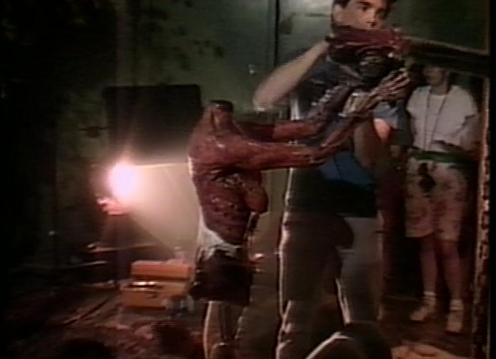 Headless puppet & chainsaw