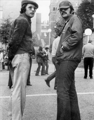 Friedkin (left) and Blatty (right)