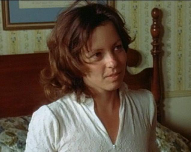 Eileen Dietz during a test scene