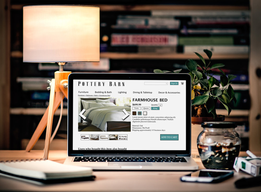 Pottery Barn Website Redesign Case Study