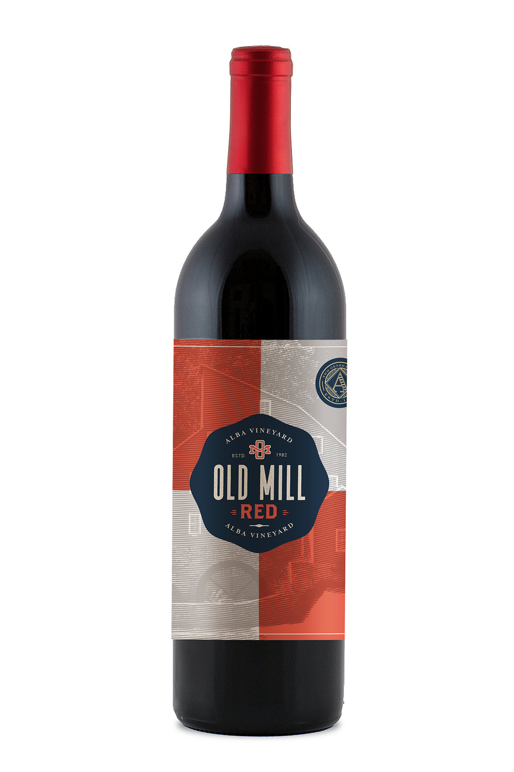 Alba Vineyard & Winery- Red Blend, Red Cuvee