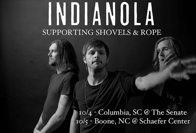 Back in the Carolinas this fall with the fam, @shovelsnrope  Ticket links on website. Let's dance. 📷: @crackerfarm