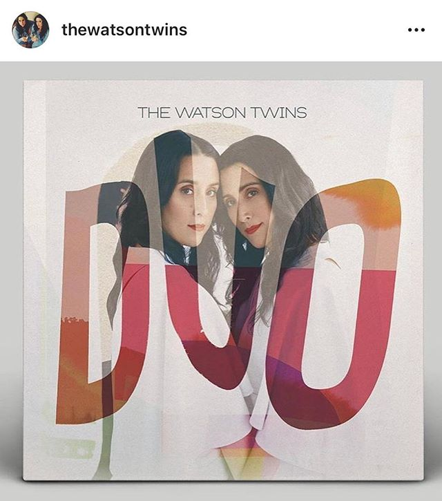 Nashville! OCT 13th!  These heavenly voices, @thewatsontwins have a beautiful new record coming out Oct 12th...and we are thrilled that they asked if we would open for them at the record release show on Oct 13th at @thebasementnash! This one is gonna be all kinds of fun y'all, so don't sleep on grabbing tickets. Gonna be a a big night! Come on, Nashville...let's dance.