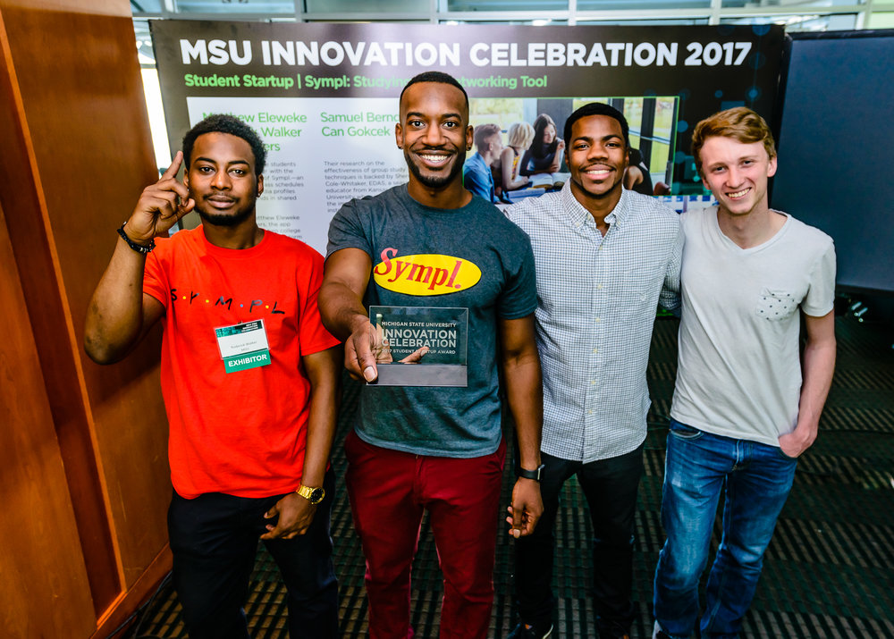 Sympl. was named the 2017 Michigan State University Startup of the Year.