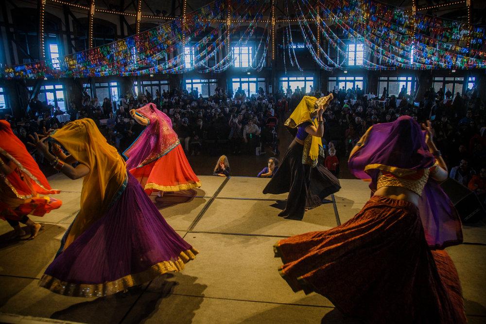 Navy Pier: Holi Celebrations