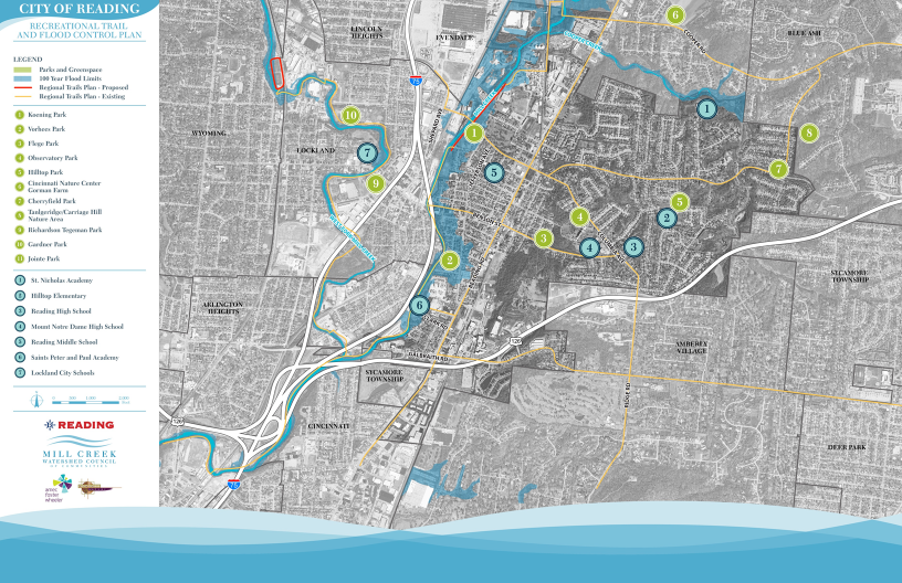 Reading Floodplain and Trails Plan -