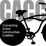 CACC logo black bike