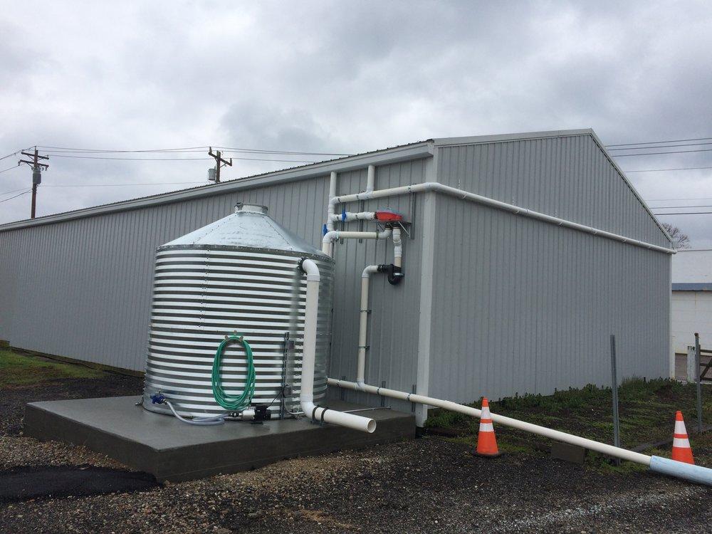 Reading Municipal Garage Rainwater -