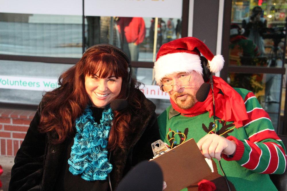 Lynda Phillippi and Walt Haight volunteer as hosts for McMinnville's many parades.