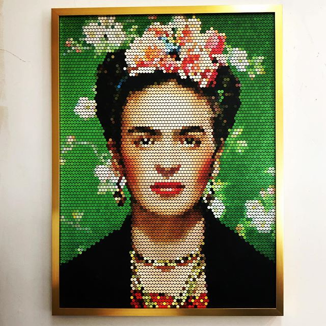 For the Frida lovers 🌸💕 Framed for @modclair