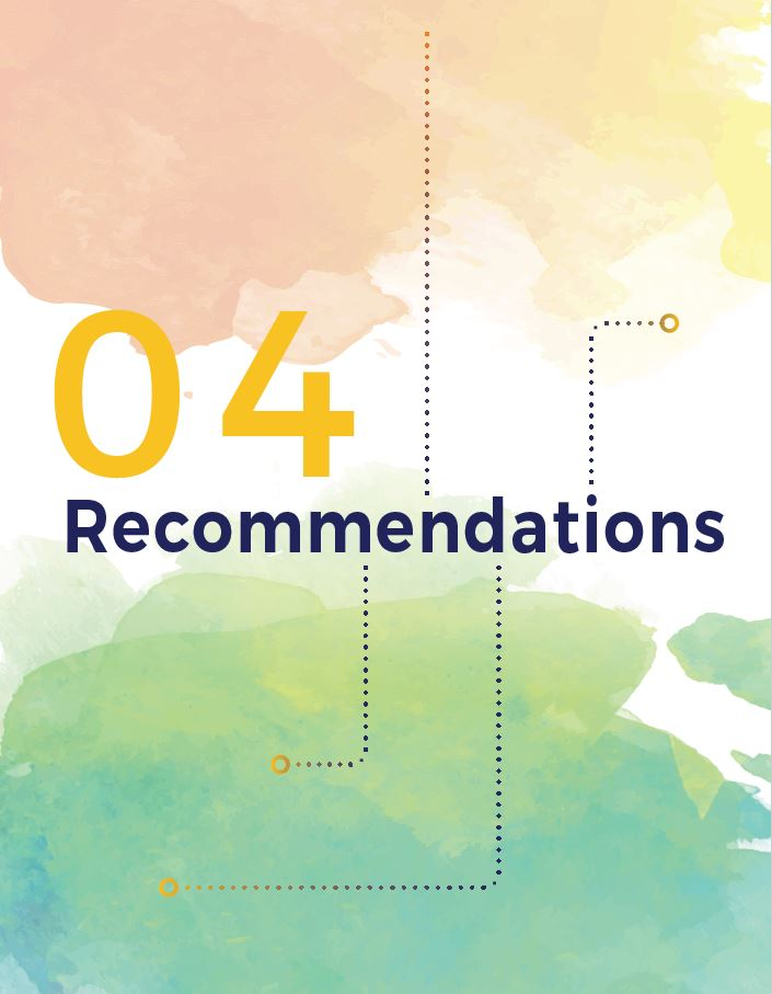 Chapter 4 - Recommendations