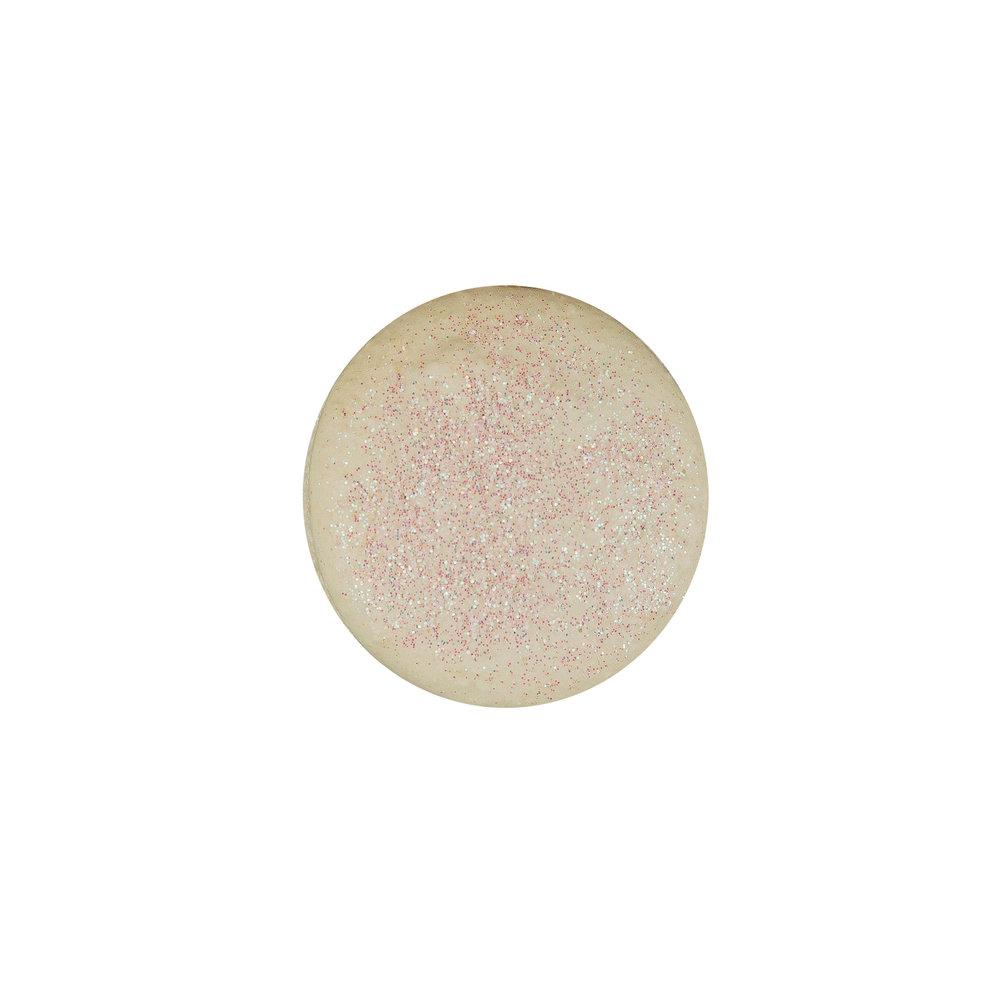 IRIDESCENT MACARON - GLITTER VANILLA ALMOND SHELLS+ VANILLA BUTTERCREAM FILLING