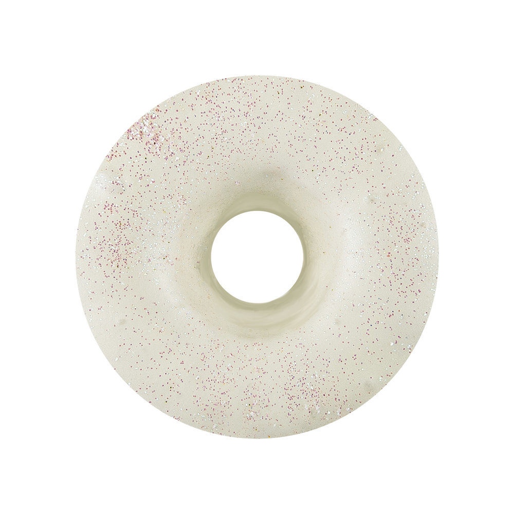 IRIDISCENT - WHITE CHOCOLATE GLAZE + SPRINKLES