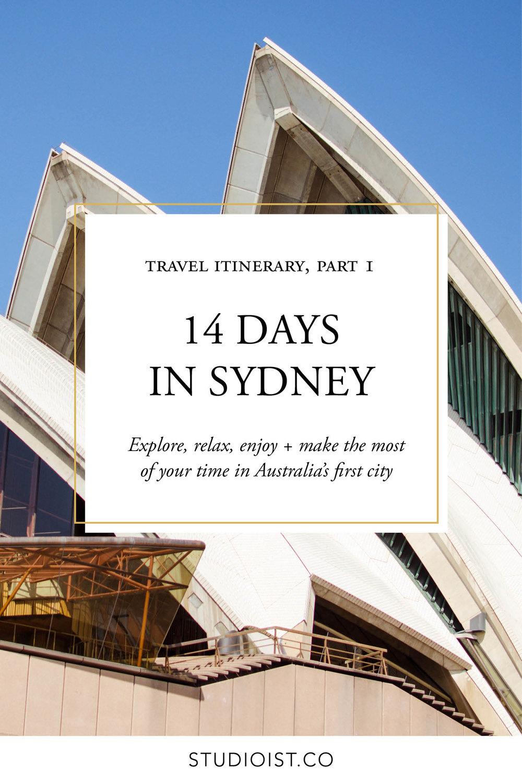 Travel Itinerary - 14 Days In Sydney Australia.jpg