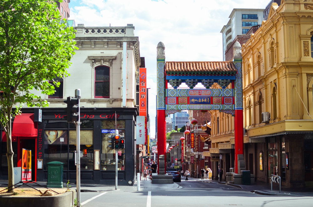 Melbourne's Chinatown is the longest continuous Chinese settlement in the western world.