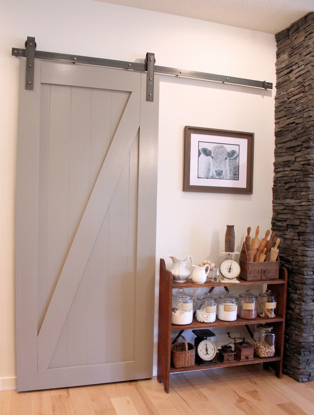 Barn Doors diy sliding barn doors photographs : Weekend DIY Sliding Barn Door — WHERE SISTERS GATHER
