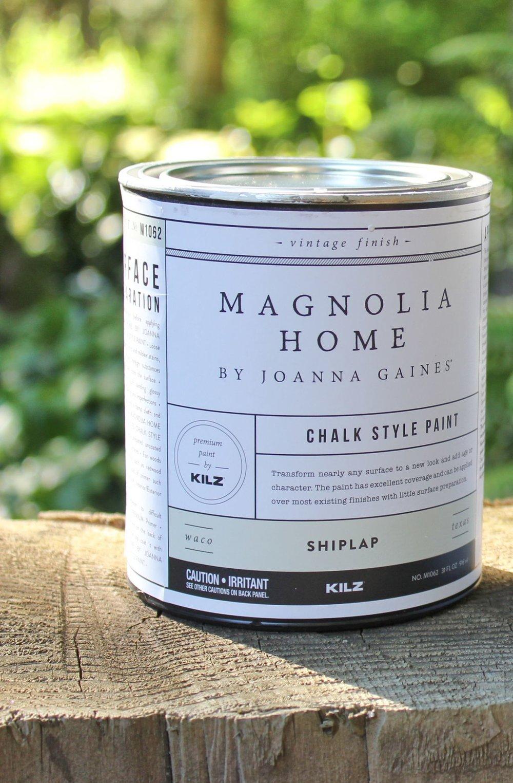 Magnolia Home Chalk Paint ~ Shiplap