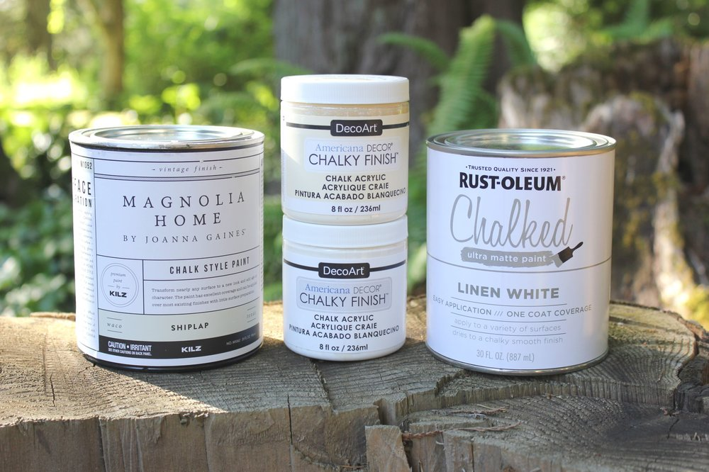 chalk paint comparison