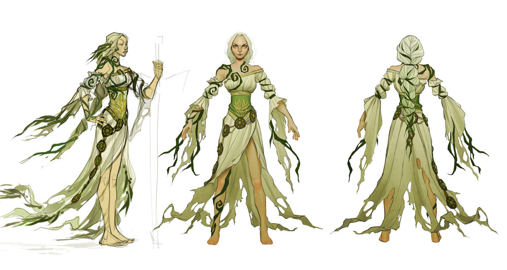 Evienne's final design