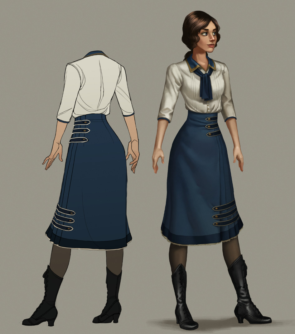 final concept for young Liz