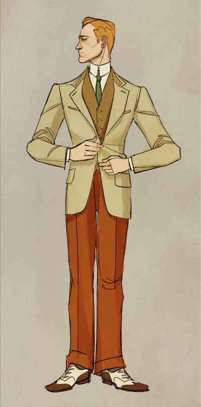 costume design for Robert