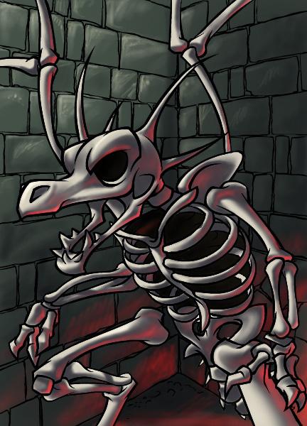 Skeleton Draik