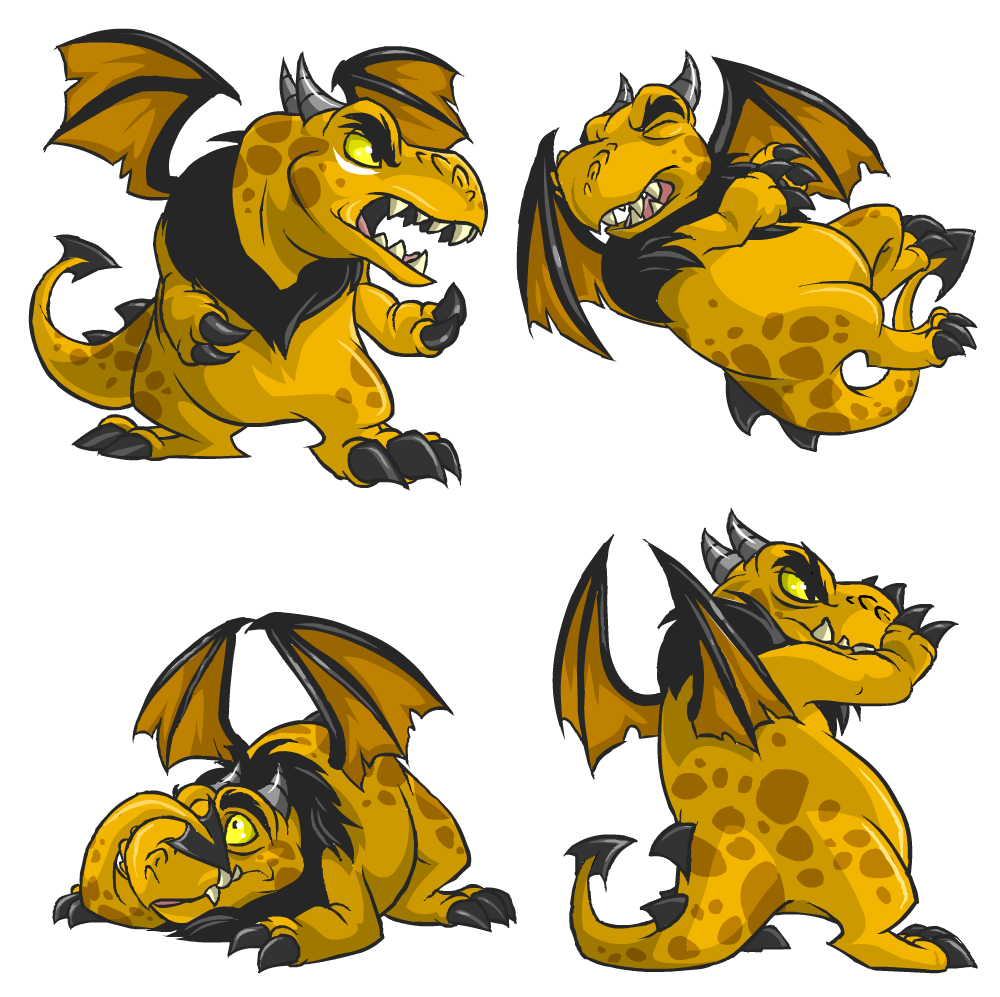 Darigan Grarrl battle poses