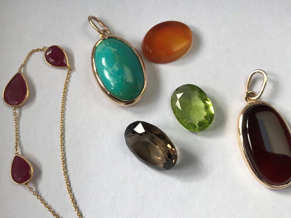 Gemstones from Northern Pakistan