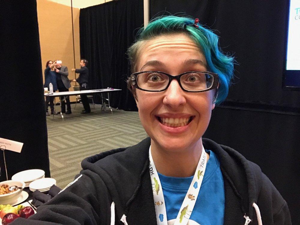 Photobombed Ina's Selfie!