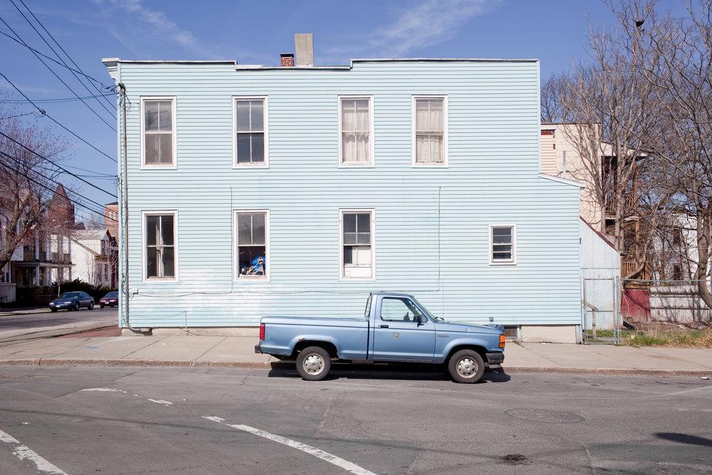 blue truck blue house 15x23.jpg
