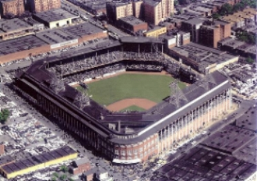 Ebbets Field in it's 'Hey Day' during the 1954 season. Four years before the Brooklyn Dodgers moved to Los Angeles.