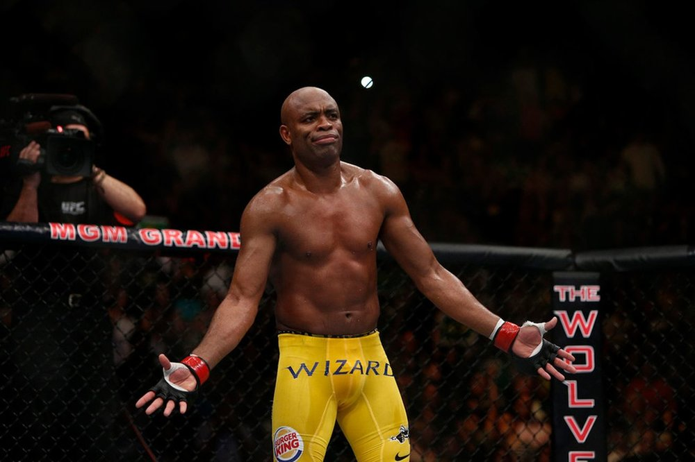 Silva at UFC 162 / IMG Source:http://bit.ly/2wJ5pBv