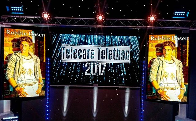 Wish every stage looked like this one!!! Honored to have performed live on TV for the 2nd year in a row at the @Telecare Telethon!!!! #GreatCause #GreatMusic #GreatTimes
