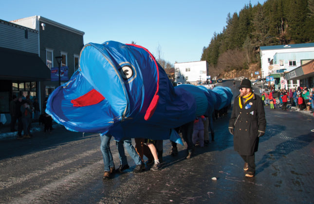 Iceworm Parade - The parade is a major event Register your float here!