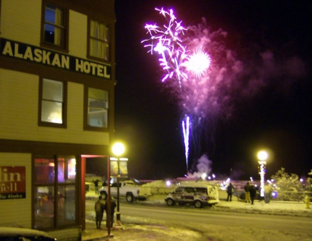 Alaskan Hotel and Bar Festivities -