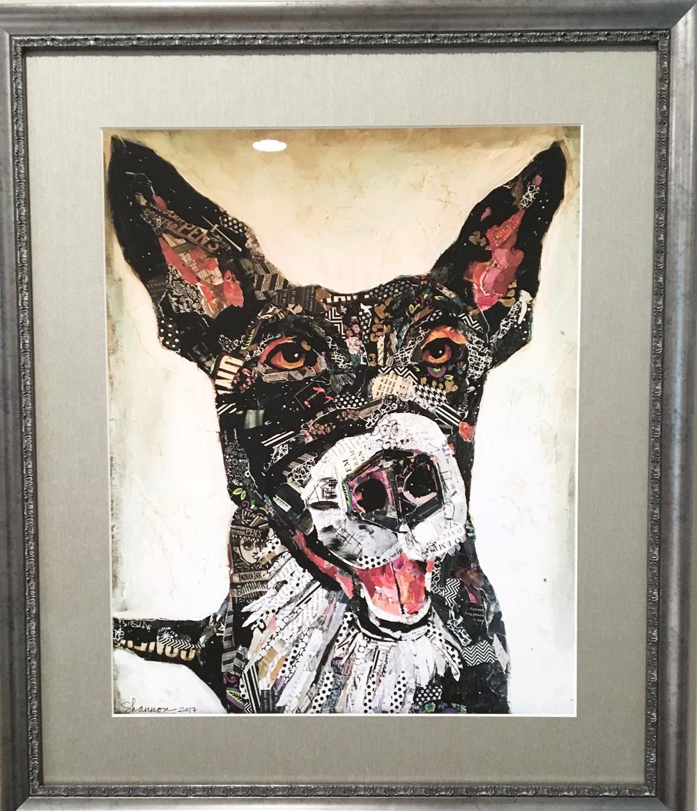 Lilly - Smart and Athletic. Framed Print. 16x20